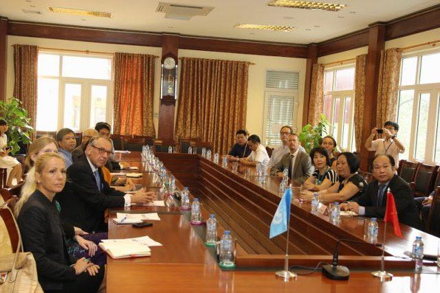 Phó Tổng thư ký Liên hợp quốc thăm Bệnh viện Nhi Trung ương