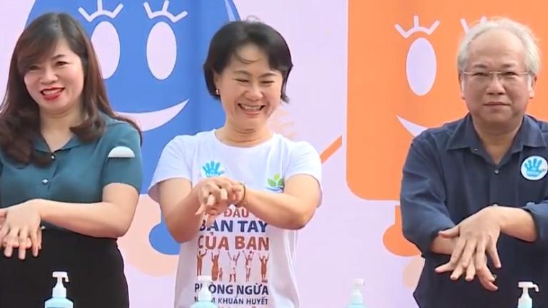 Thiết thực hưởng ứng Ngày Thế giới rửa tay với xà phòng 15-10