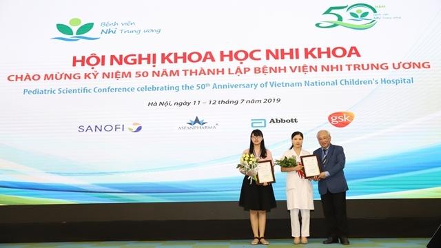 Hội nghị khoa học nhi khoa hướng tới kỷ niệm 50 năm xây dựng và phát triển Bệnh viện Nhi Trung ương.