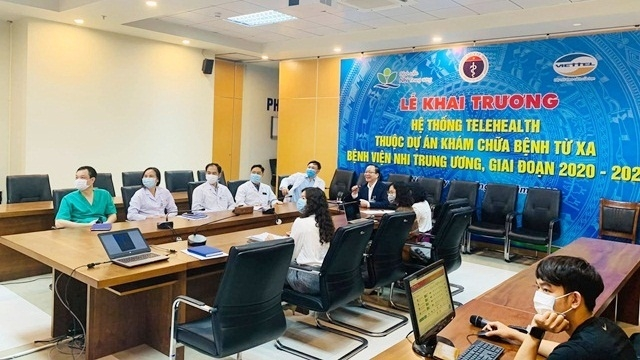 Bệnh viện Nhi Trung ương: Nâng cao hiệu quả chăm sóc sức khỏe trẻ em từ Dự án Khám, chữa bệnh từ xa