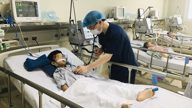 Nhiều trẻ nhập viện do viêm não Nhật Bản
