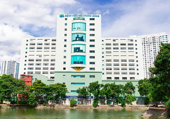 Giới thiệu Bệnh viện Nhi Trung ương