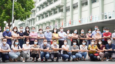 Đoàn công tác Bệnh viện Nhi Trung ương tiếp tục lên đường hỗ trợ Vĩnh Long chống dịch