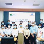 Bệnh viện Nhi Trung ương tiếp nhập học viên  là các bác sĩ nội trú trường Đại học VinUni